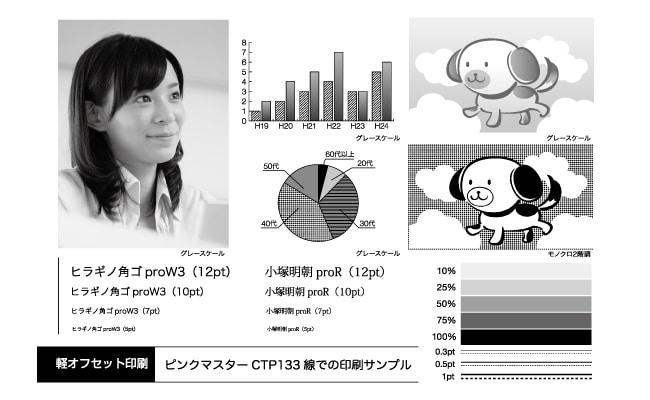 CTP印刷サンプル